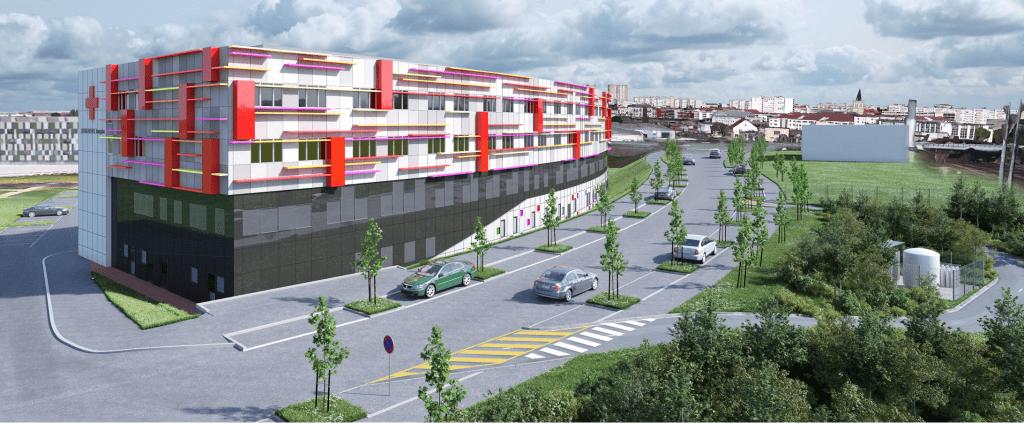 Construction centre de soins croix rouge chalon sur saone - bet daventure