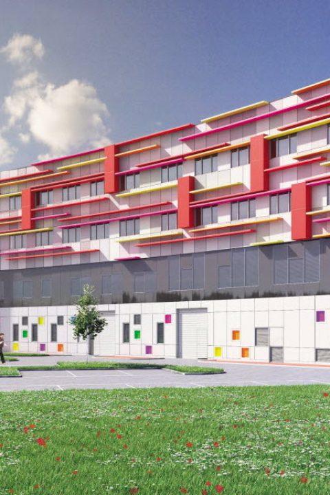 Construction d'un centre de soins croix rouge à chalon sur saone - BET DAVENTURE